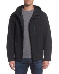 Andrew Marc - Stratus Waterproof Hooded Rain Jacket - Lyst