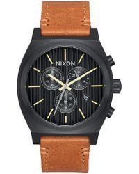 Nixon - Men's Time Teller Analog Quartz Watch, 39mm - Lyst