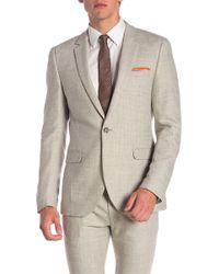 TOPMAN - Cross Hatch Suit Jacket - Lyst