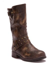 Dirty Laundry - Tearly Loredo Burnished Studded Boot - Lyst