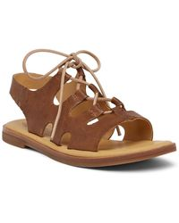 Kork-Ease | Pearl Ghillie Lace-up Sandal | Lyst