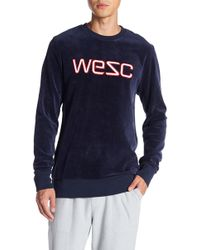 Wesc - Miles Plush Pullover - Lyst