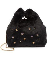 Sam Edelman - Jessamy Faux Fur Shopper Bag - Lyst