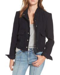 Mcguire - Bloombury Crop Cotton Jacket - Lyst