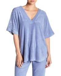N Natori - Terry Lounge Top - Lyst
