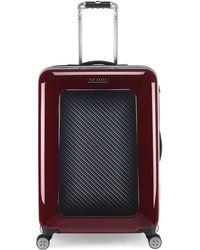 Ted Baker - Medium Hardcase Spinner Suitcase - Lyst