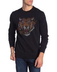 Antony Morato - Long Sleeve Fleece Sweater - Lyst