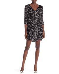 Muche Et Muchette - 3/4 Sleeve Floral Print Dress - Lyst