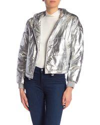 Splendid - Dakota Puffer Hooded Jacket - Lyst