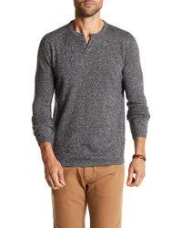 Autumn Cashmere - Split Collar Cashmere Sweater - Lyst