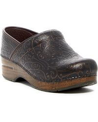 Dansko - Professional Embossed Leather Clog - Lyst