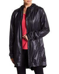 Zella - Femme Pleated Water Resistant Jacket - Lyst