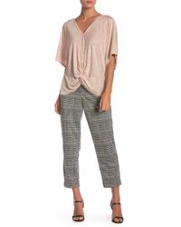 June & Hudson - Houndstooth Cropped Pants - Lyst