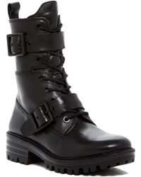 Kendall + Kylie - Eliya Lace-up Leather Boot - Lyst