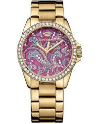 Juicy Couture - Women's Laguna Crystal Bracelet Watch - Lyst