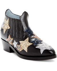 Chiara Ferragni - Embroidered Star Leather Boot - Lyst