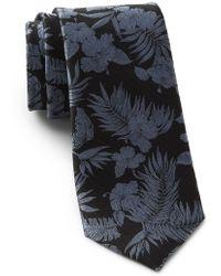 Ted Baker - Tropical Botanical Silk Tie - Lyst