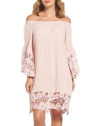 2d0d805e87 Muche Et Muchette Mercer Cover-up Maxi Dress in Natural - Lyst