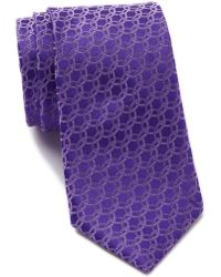 Ted Baker - Circle Links Silk Tie - Lyst