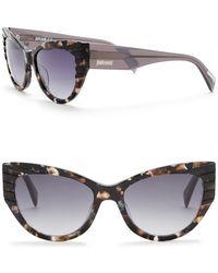 Just Cavalli - Cat Eye 54mm Plastic Sunglasses - Lyst
