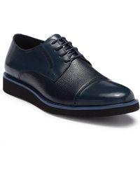 Zanzara - Saxe Leather Brogue Cap Toe Derby - Lyst