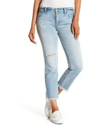 Sanctuary - Straight Leg Boyfriend Jeans - Lyst