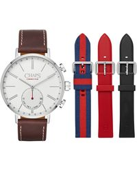 Chaps - Dunham Interchangeable Hybrid Smart Strap Watch, 44mm - Lyst