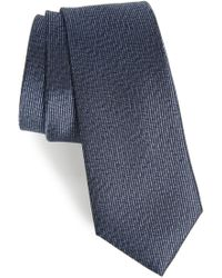 Calibrate - Heathered Solid Silk Tie - Lyst