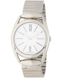 Gucci - Women's Horsebit Stainless Steel Analog Watch, 34mm - Lyst