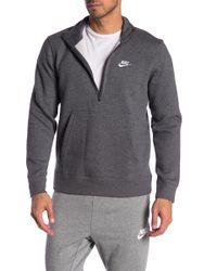 Nike - Half-zip Pullover - Lyst