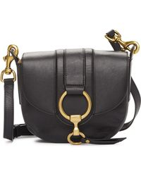 Frye - Ilana Harness Small Leather Saddle Bag - Lyst