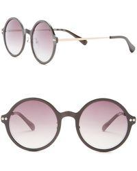 6f0d26195a94e Diane von Furstenberg Harper 58mm Cat Eye Sunglasses in Brown - Lyst