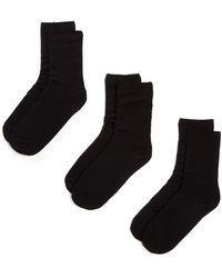 Hue - New Loafer Socks - Pack Of 3 - Lyst
