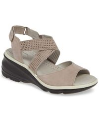 Jambu - Lilly Wedge Sandal (women) - Lyst