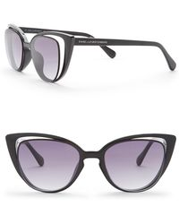 Diane von Furstenberg - Cat Eye 50mm Acetate Frame Sunglasses - Lyst