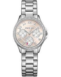 Juicy Couture - Women's Gwen Crystal Bracelet Watch - Lyst