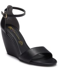 BC Footwear - Tempo Wedge Ankle Strap Sandal - Lyst