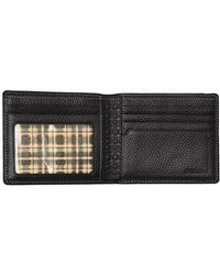 Boconi - Tyler Pebbled Leather Bifold Wallet - Lyst
