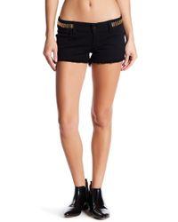Siwy Camilla Rosette Cutoff Shorts