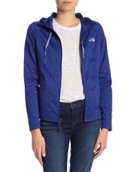 The North Face - Tech Mezzaluna Full Zip Hoodie Jacket - Lyst