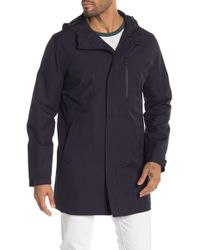 828841882fe4 Lyst - Michael Kors Michael Men s Hooded Puffer Coat With Attached ...