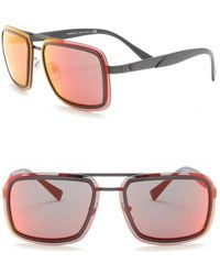 f39febdb386c Versace - V-wire Curve Ve 2183 Navigator Sunglasses - Lyst