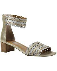 J. Reneé - Labonita Leather Block Heel Sandal (extended Widths Available) - Lyst