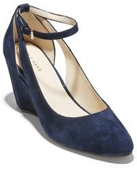 Cole Haan - Lacey Cutout Wedge Pump (women) - Lyst
