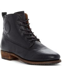 Blackstone - Lace-up Bootie - Lyst