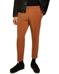 TOPMAN - Tapered Trousers - Lyst