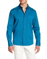 Tommy Bahama - Oasis Twill Solid Trim Fit Shirt - Lyst