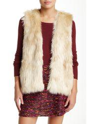 Waverly Grey - Ziggy Faux Fur Vest - Lyst