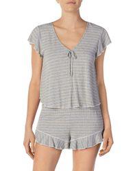 Room Service - Stripe Short Pajamas (nordstrom Exclusive) - Lyst