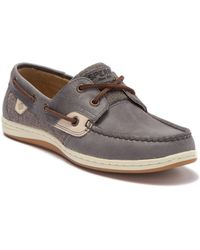 bb499c939cd Sperry Top-Sider - Koifish Sparkle Slate Boat Shoe - Lyst